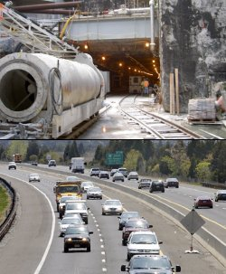 East Side Access and Garden State Parkway widening projects are both projects in search of federal dollars.
